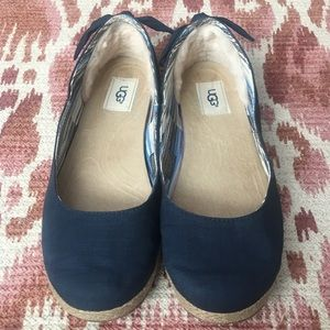 Ugg Perrie Shearling Lined Flat